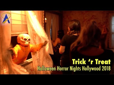 Trick 'r Treat maze at Halloween Horror Nights Hollywood 2018