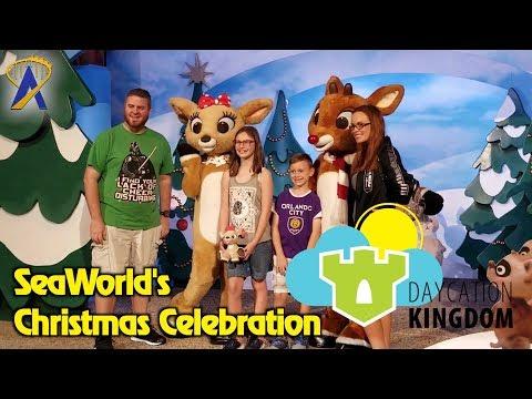 SeaWorld Christmas Celebration - Daycation Kingdom