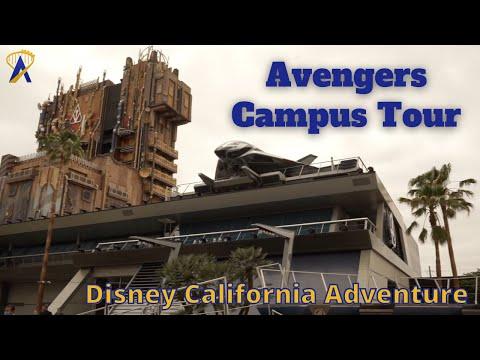Avengers Campus Walk-Through Tour at Disney California Adventure