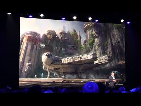 Star Wars park expansion presentation at D23 Expo 2015