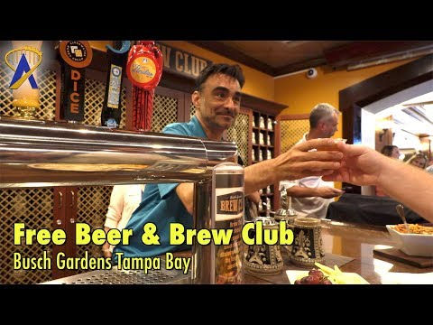 Busch Gardens Tampa Bay brings back Free Beer and debuts Brew Club