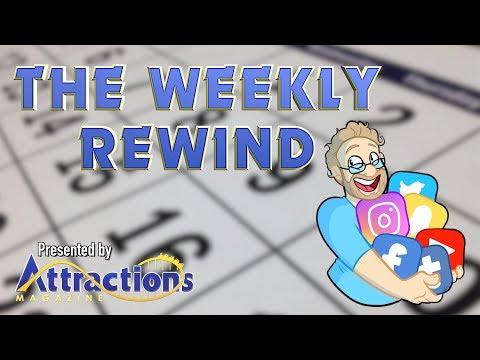 The Weekly Rewind - SeaWorld Orlando updates, Disneyland Paris and more