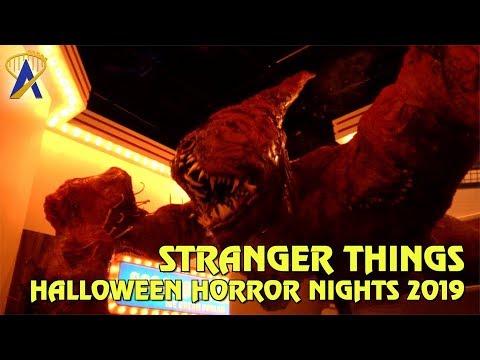 Stranger Things highlights from Halloween Horror Nights Orlando 2019