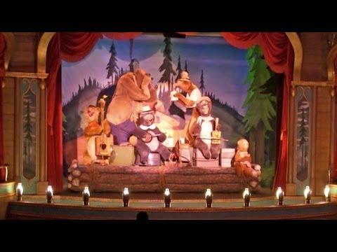 "Gay Days ""Bears"" sing-a-long with the Country Bears at their Jamboree at Magic Kingdom"