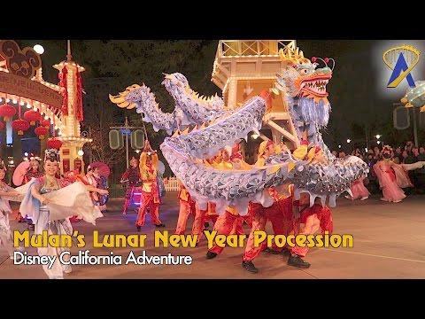 Mulan's Lunar New Year Procession 2017 at Disney California Adventure