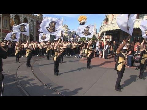 UCF parade at Disney's Magic Kingdom - Fiesta Bowl winners