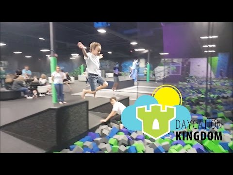 Daycation Kingdom - '2Infinity Extreme Air Sports' - Episode 77 - Feb. 27, 2017