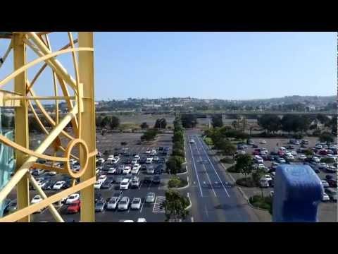 Front Row Journey to Atlantis ride-through at SeaWorld San Diego