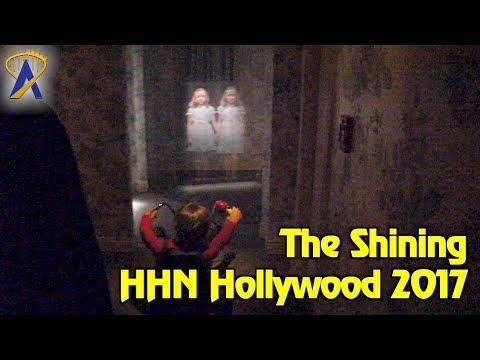 The Shining maze highlights at Halloween Horror Nights Hollywood 2017