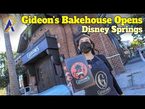 Gideon's Bakehouse Opens at Disney Springs