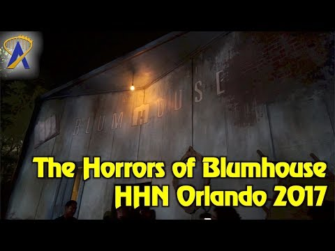 The Horrors of Blumhouse highlights from Halloween Horror Nights Orlando 2017