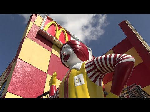 Tour of former World's Largest Entertainment McDonald's off I-Drive