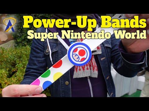 Power-Up Bands in Super Nintendo World at Universal Studios Japan