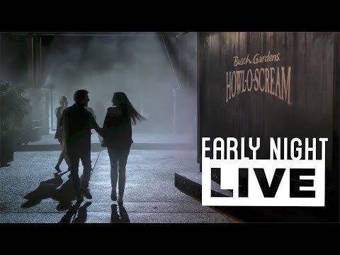 Howl-O-Scream at Busch Gardens Tampa Bay - Early Night Live