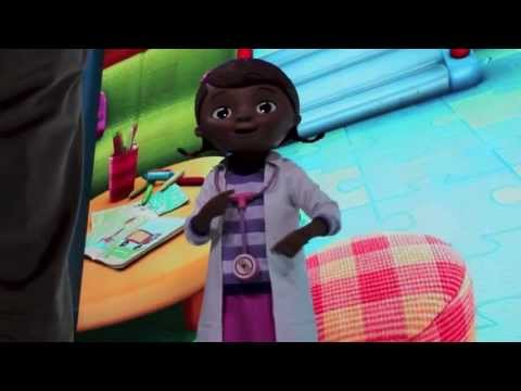Doc McStuffins First Character Appearance at the Disney D23 Expo 2013
