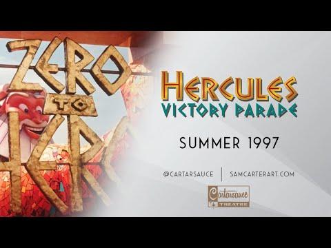 Hercules Victory Parade - Disneyland 1997