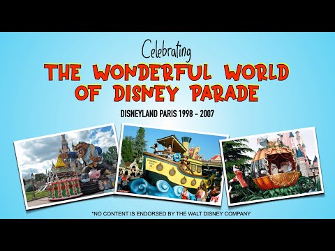 Celebrating The Wonderful World of Disney Parade - Lockdown Edition