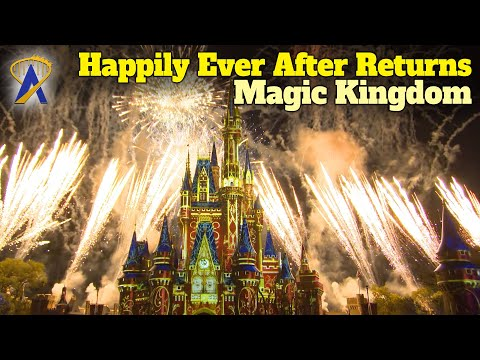 'Happily Ever After' Nighttime Spectacular Firework Show Returns To The Magic Kingdom