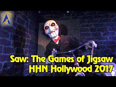Saw: The Games of Jigsaw maze highlights at Halloween Horror Nights Hollywood 2017