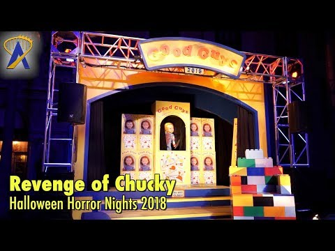 Revenge of Chucky Scare Zone at Halloween Horror Nights 2018