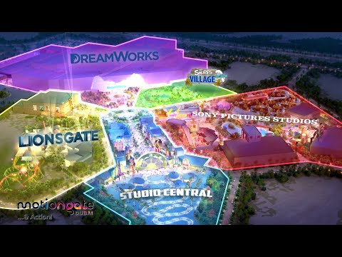 Motiongate Dubai details and construction update for new Hollywood-inspired park