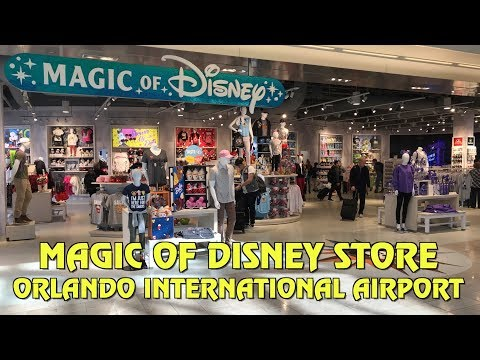 New 'Magic of Disney' Store at Orlando International Airport