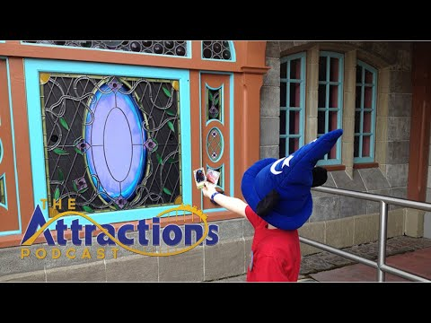 LIVE: Recording Episode #69 of The Attractions Podcast