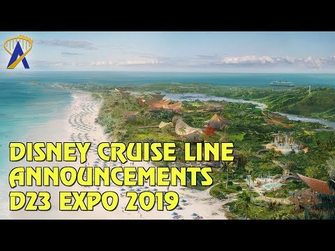 New Disney Cruise Line Port of Call and Ship Name Revealed at D23 Expo 2019