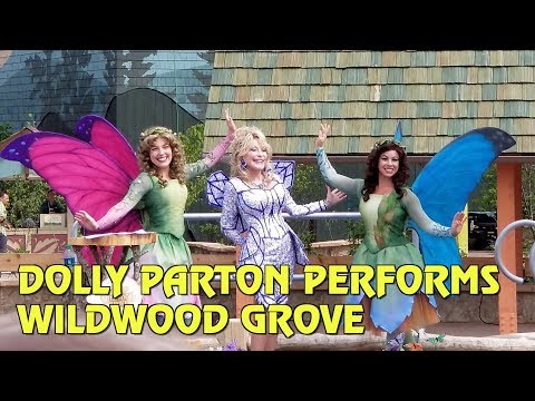 Dolly Parton performs at opening of Wildwood Grove in Dollywood
