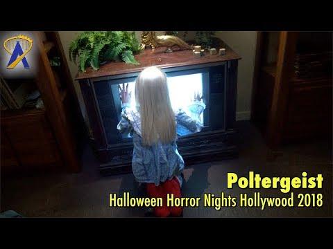 Poltergeist maze at Halloween Horror Nights Hollywood 2018