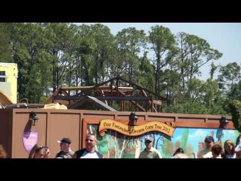 Magic Kingdom Update: Fantasyland, Speedway, Haunted Mansion and more - April 2011