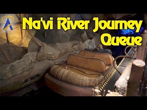 Na'vi River Journey Queue in Pandora - The World of Avatar at Disney's Animal Kingdom