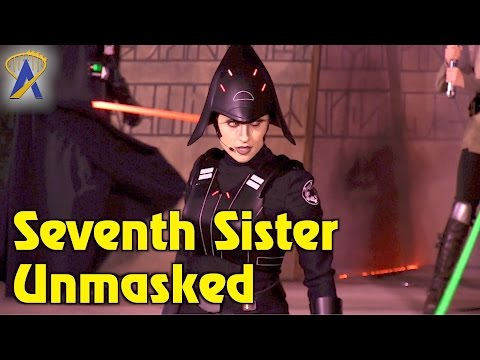 Seventh Sister unmasked during Jedi Training at Star Wars Galactic Nights