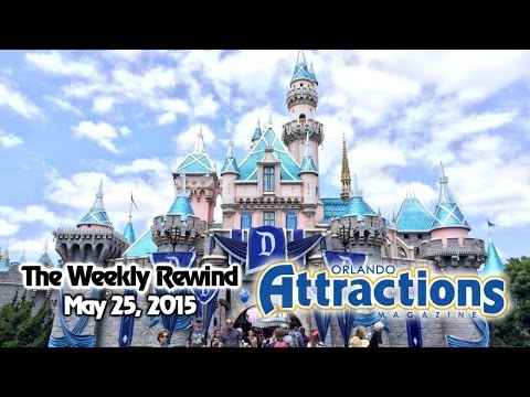 The Weekly Rewind @Attractions - Disneyland 60th, 24-hour event - May 25, 2015