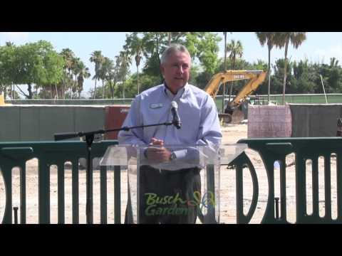 Full Cobra's Curse Roller Coaster Announcement at Busch Gardens Tampa