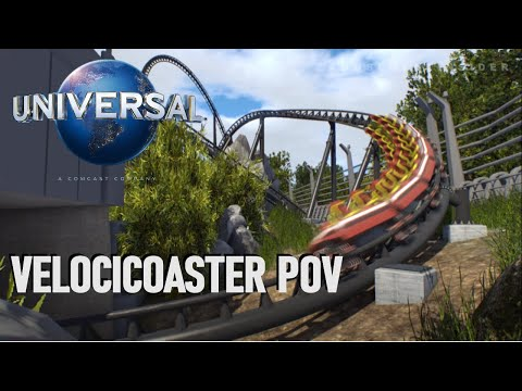 New for 2021, Islands of Adventure Jurassic Coaster - POV (Anticipated/Predicted Layout)