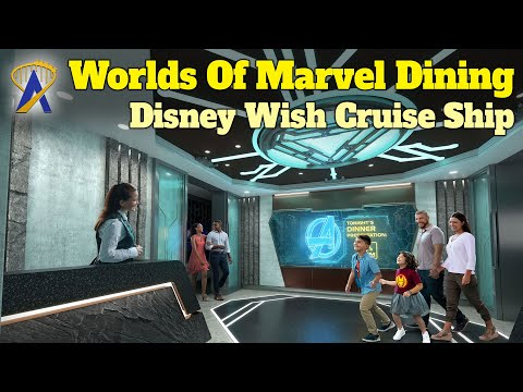 Worlds Of Marvel Dining Experience Coming To Disney Wish Cruise Ship
