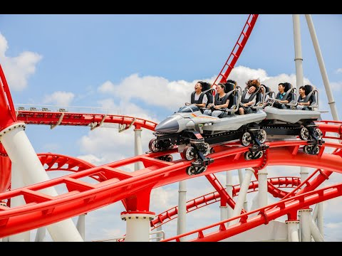 Top Gun Launch Coaster 'Fighter Jet' - Fanta Park Glorious Orient Ganzhou