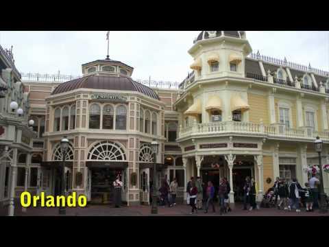 Main Street USA - comparing Walt Disney World to Disneyland Paris
