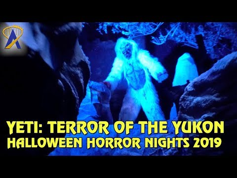 Yeti: Terror of the Yukon highlights from Halloween Horror Nights Orlando 2019