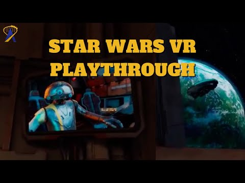 First 10 Minutes of Star Wars: Tales from the Galaxy's Edge VR Game on Oculus Quest 2