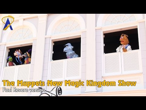 The Muppets Present Great Moments in American History - Full Paul Revere Show at Magic Kingdom
