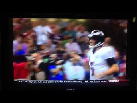 Joe Flacco - Baltimore Ravens Super Bowl MVP - Disney World Commercial