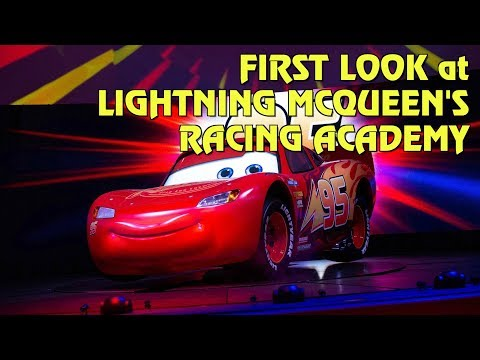 First Look at Lightning McQueen's Racing Academy at Disney's Hollywood Studios