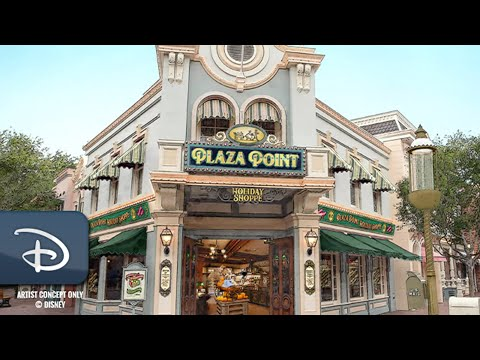 Plaza Point | All-New Holiday Store Coming Soon To Disneyland Park