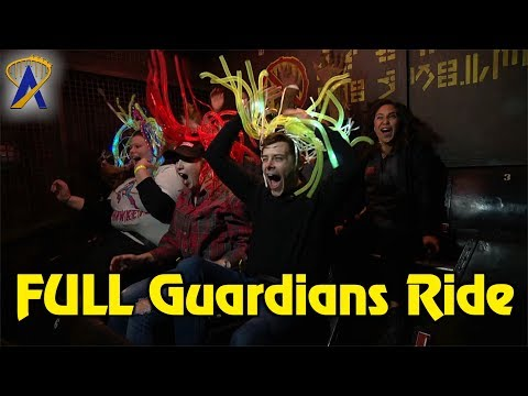 Full Ride - Guardians of the Galaxy - Mission: Breakout! at Disney California Adventure