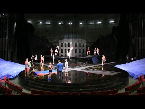 Behind the scenes of rehearsals for Cirque du Soleil La Nouba at Disney Springs