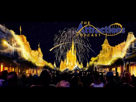 LIVE: The Attractions Podcast #93 - Nighttime spectaculars, Destination D23, and more!