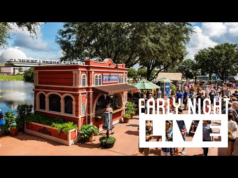 First Day of Food & Wine 2018! - Early Night Live