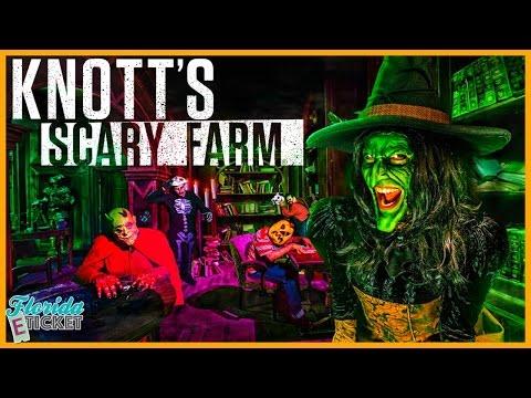 Florida E-Tick-or-Treat - 'Knott's Scary Farm' - Oct. 9, 2016
